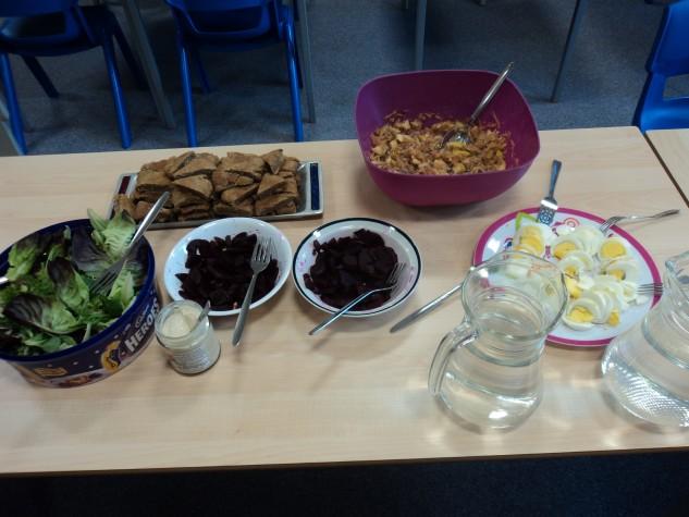 SPS photo for website - seder meal