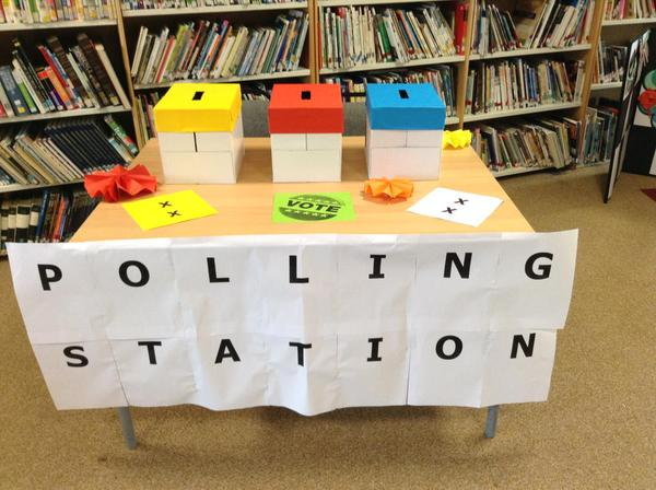 polling station school council