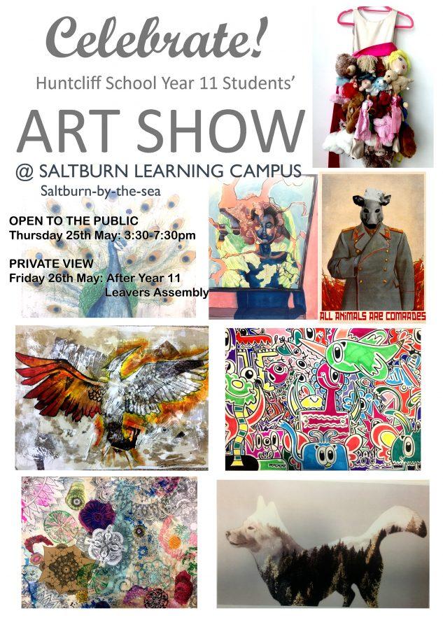Huntcliff Year 11 Art Show @ SLC atrium