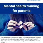 Free Mental Health Training for Parents