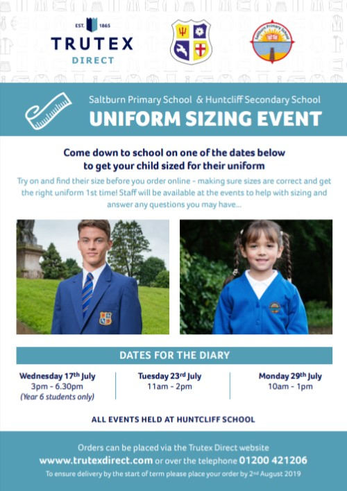 Uniform session 11am - 2.00pm